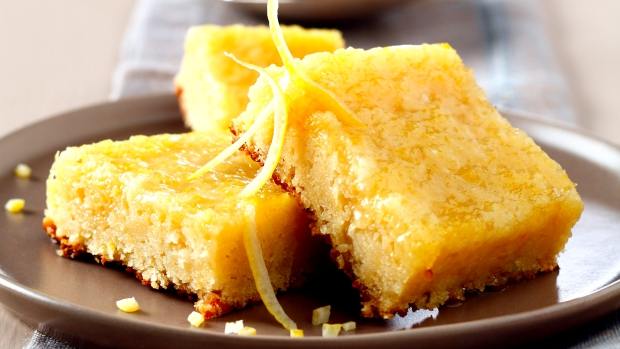 Citronové řezy s polevou
