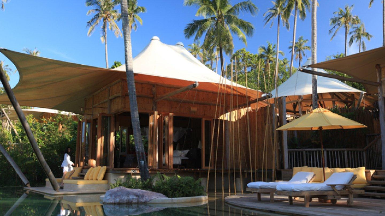 V Thajsku si můžete luxus užít i v takzvaných ekoresortech. SONEVA KIRI SIX SENSES