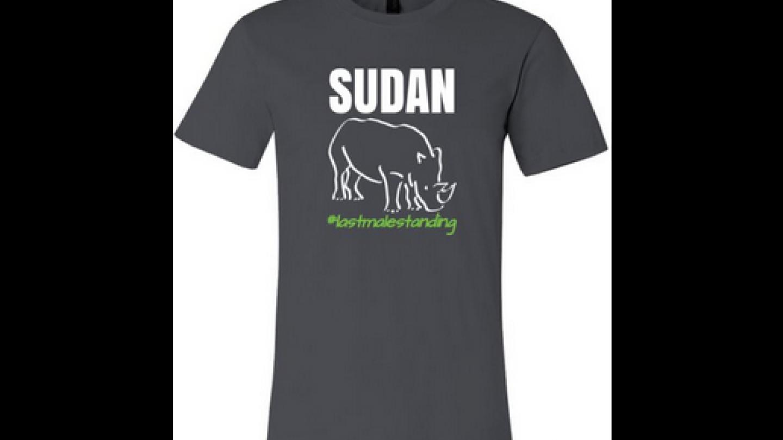 Pod hashtagem LastMaleStanding, tedy Poslední samec zůstává, najdete na sociálních sítích k prodeji trička a suvenýry s motivem Súdána. Jejich koupí přispějete rezervaci Ol Pejeta k ochraně posledního samce na zemi, jehož druh jsme my sami zničili.