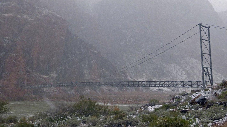 Grand Canyon a jeho nejkrásnější zimní fotografie - Obrázek 27
