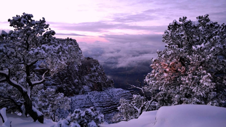 Grand Canyon a jeho nejkrásnější zimní fotografie - Obrázek 34