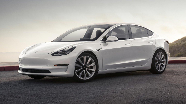 Tesla Model 3 sériová výroba
