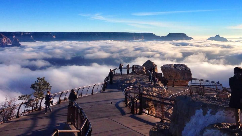 Grand Canyon a jeho nejkrásnější zimní fotografie - Obrázek 1