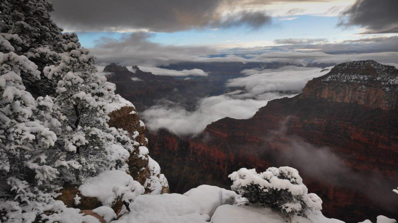 Grand Canyon a jeho nejkrásnější zimní fotografie - Obrázek 7