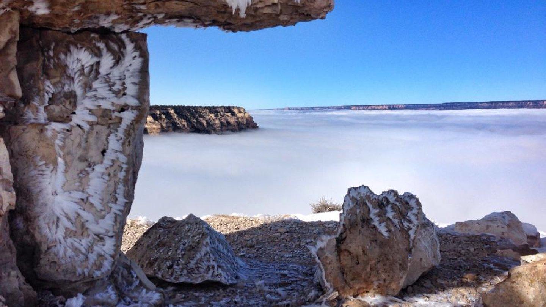 Grand Canyon a jeho nejkrásnější zimní fotografie - Obrázek 12