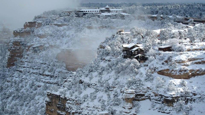 Grand Canyon a jeho nejkrásnější zimní fotografie - Obrázek 14