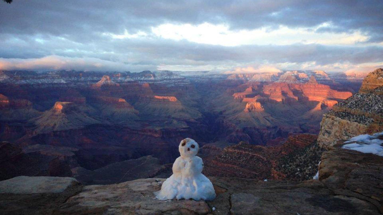 Grand Canyon a jeho nejkrásnější zimní fotografie - Obrázek 15