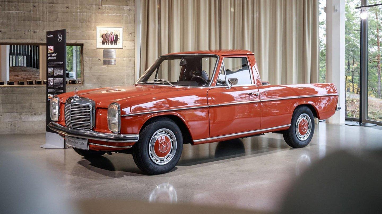 Roztomilý pickup od Mercedesu - Obrázek 3