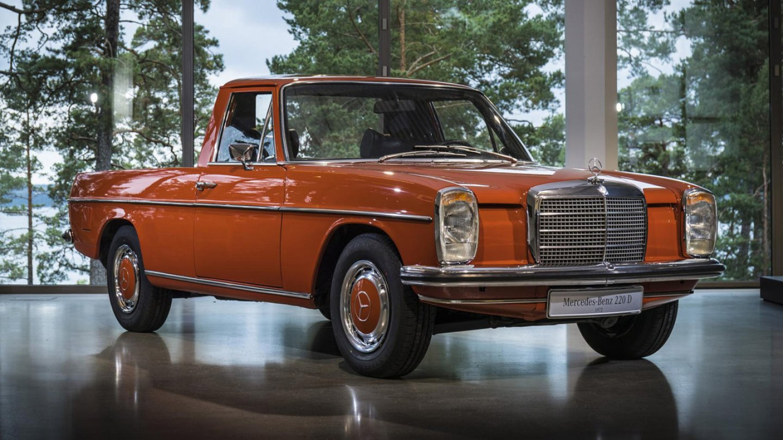 Roztomilý pickup od Mercedesu - Obrázek 1