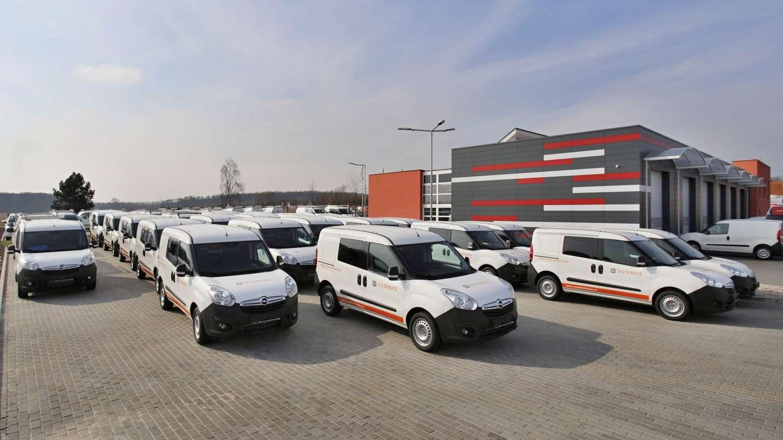 Opel Combo pro ČEZ