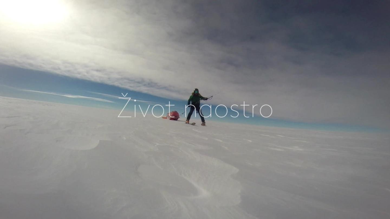 Sám napříč Antarktidou - upoutávka