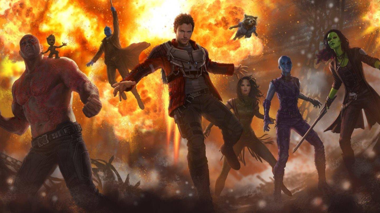 Strážci Galaxie Vol. 2 (4. května) – Návrat marveláckých desperátů, v němž se Star-Lord setká se svým otcem