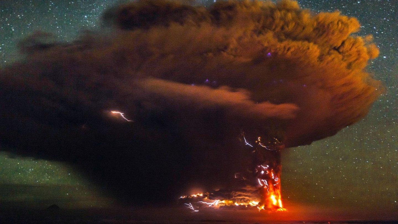 Erupce sopky Calbuco v Chile - Obrázek 2