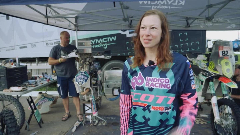 Gabriela Novotná na Dakaru