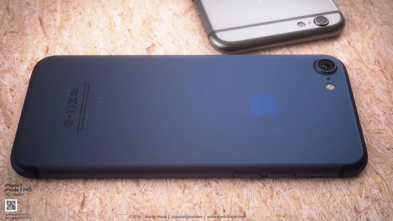 Jak bude vypadat iPhone 7 v nové modré barvě? 6