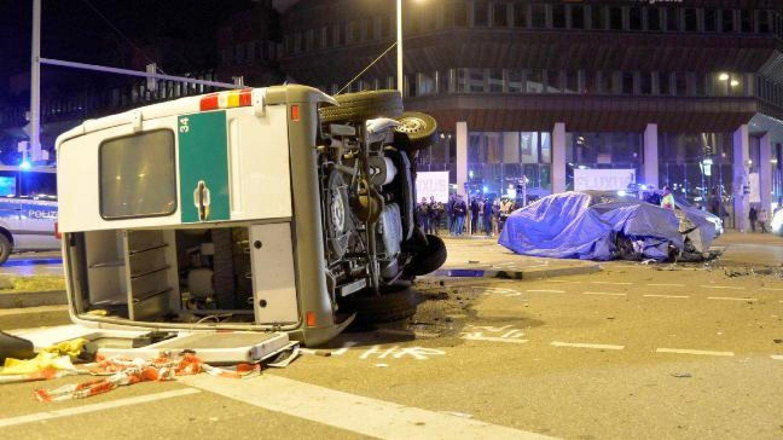BMW vs. policie