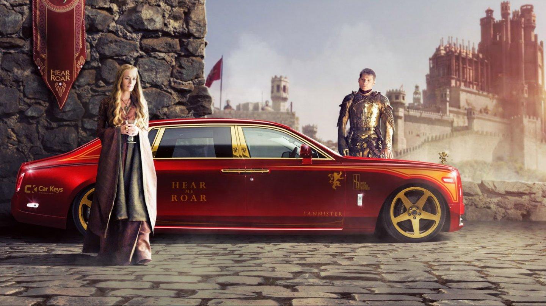 Pro královskou rodinu ze Hry o trůny jedině Rolls-Royce Phantom.