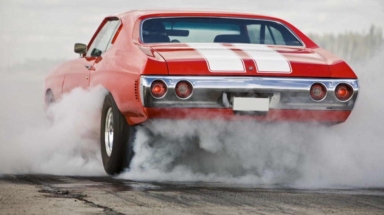 Muscle Car - ilustrační obrázek