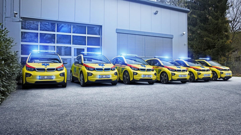 BMW i3 pro záchranku