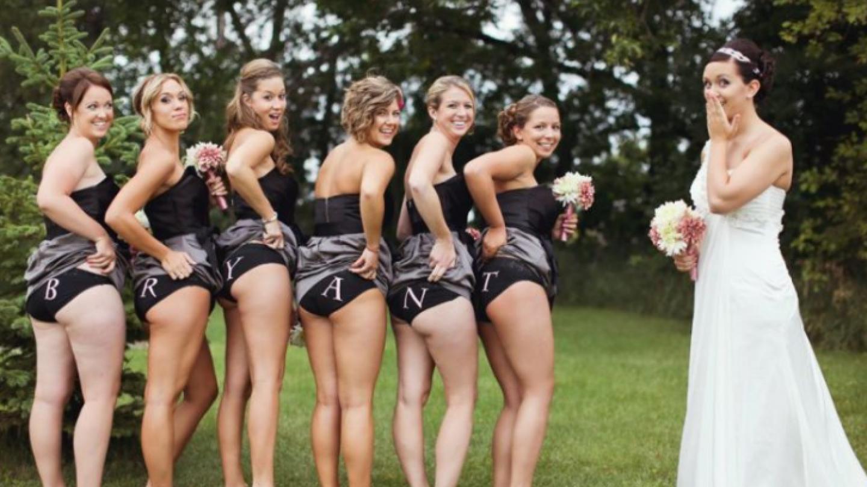 Sprosté svatební fotky