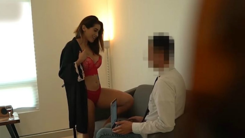 Sexy bělidlo porno