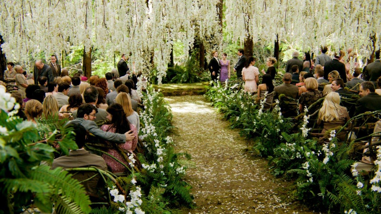 Svatba v Twilight sáze byla naprosto pohádková