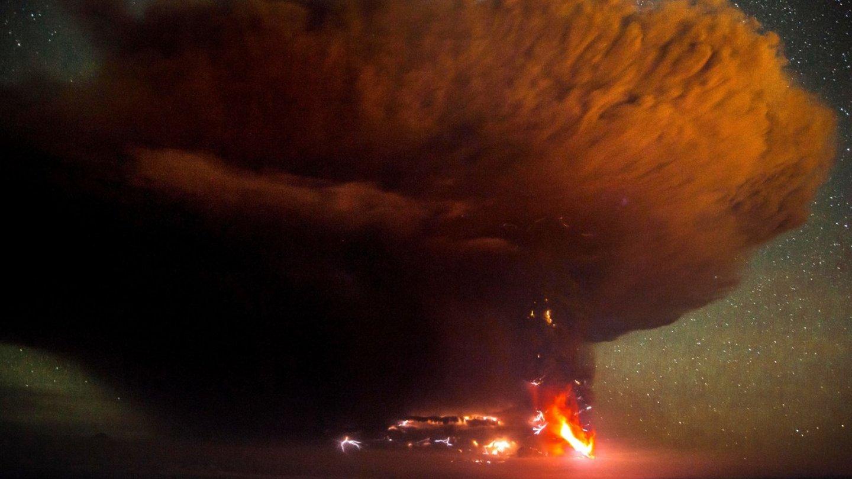Erupce sopky Calbuco v Chile - Obrázek 5