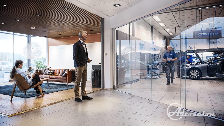 Revoluce v servisech Volvo - nechte se hýčkat