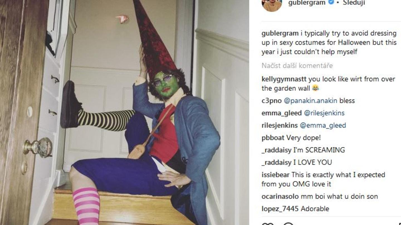 Matthew píše, že se sexy halloweenským kostýmům snaží vyhýbat, ale tady si prý nemohl pomoci