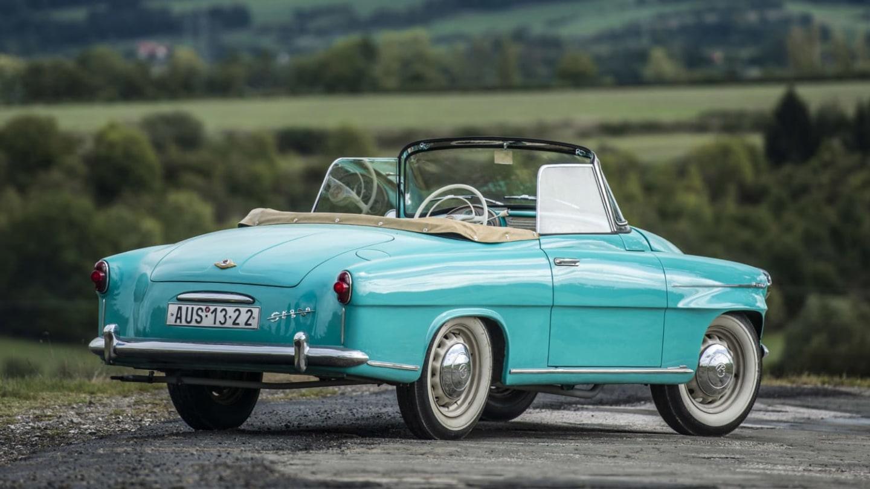 Škoda 450, předchůdce slavné Felicie.