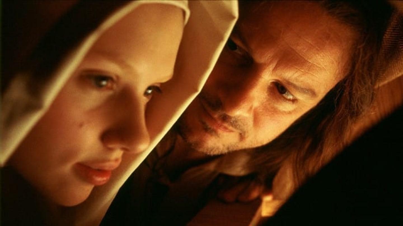 Záběry z filmu Dívka s perlou