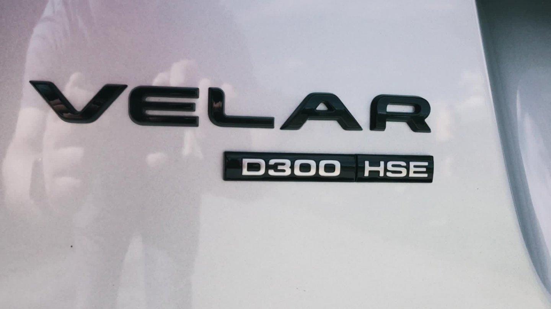 Nový Range Rover Velar ve skutečném světě