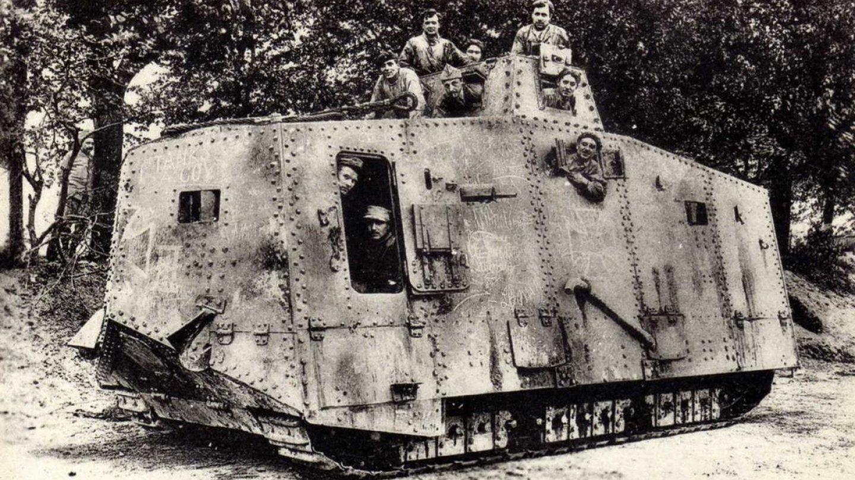 Jediný německý tank, který zasáhl do 1. světové války - Obrázek 6