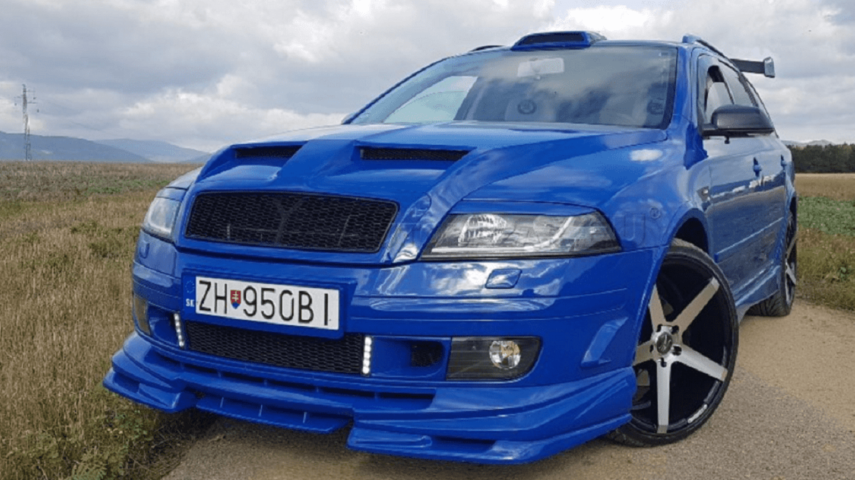Tuningová Škoda Octavia ze Slovenska