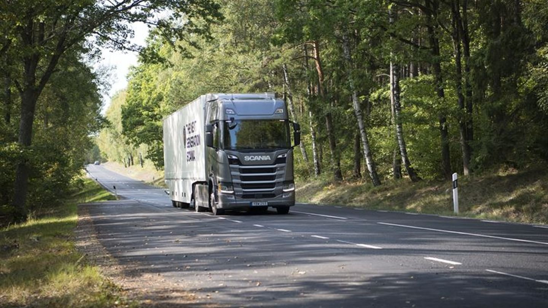 Scania Green Truck 2018