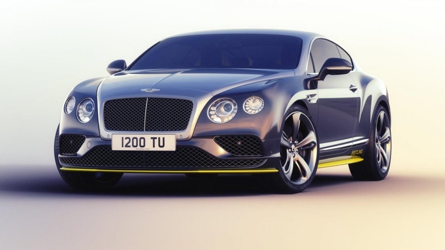 Bentley Continental GT Speed Breitling Jet Team Series special edition_