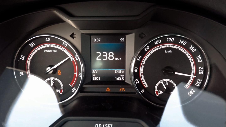 Škoda Octavia RS245 je nejsportovnější model české značky.
