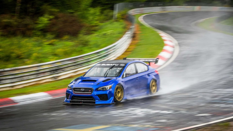 Speciál Subaru pro rekord na Ringu.