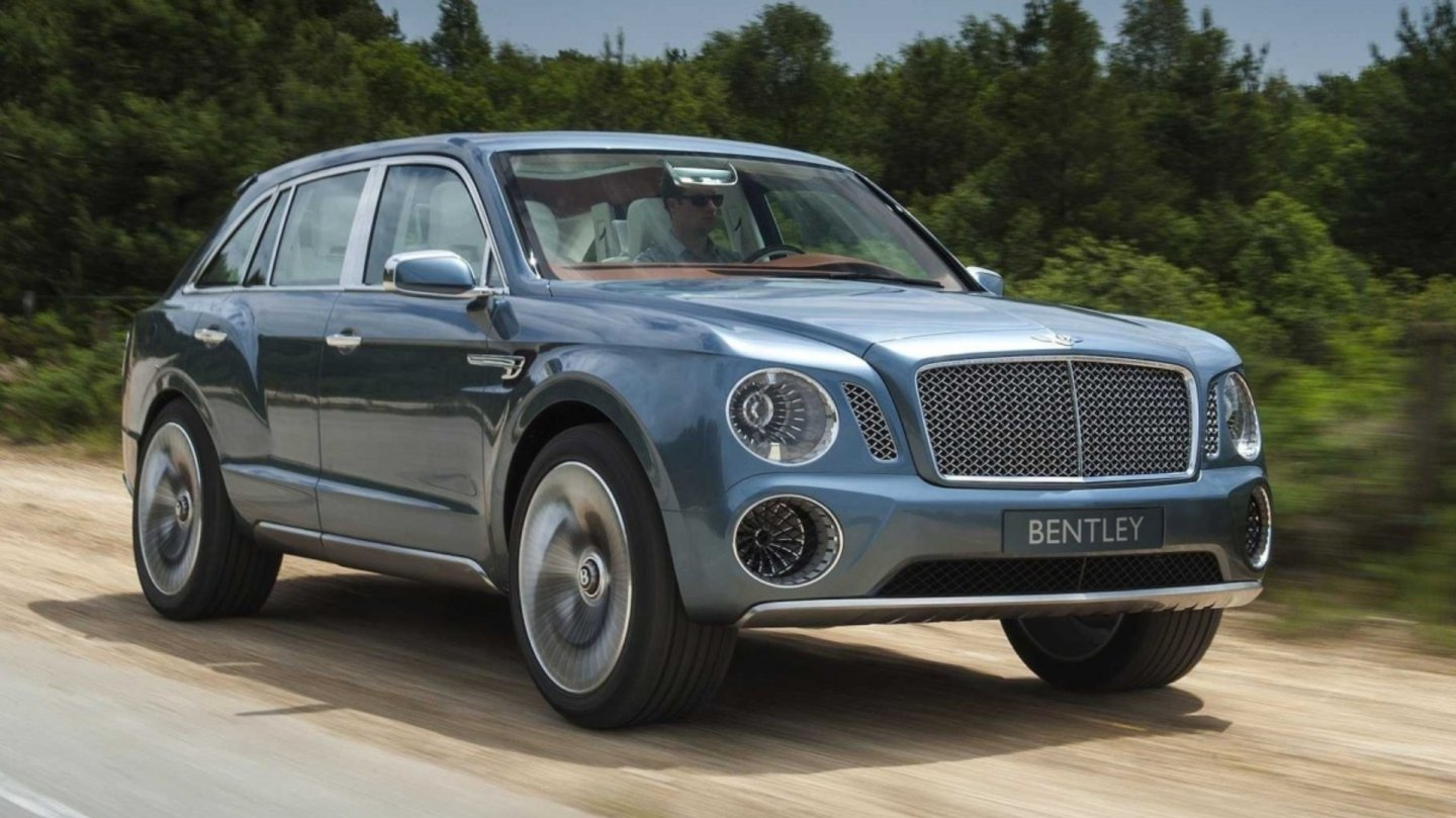 Bentley Bentayga ve Španělsku