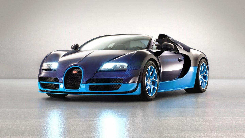 Bugatti Veyron v exkluzivní edici Vitesse.