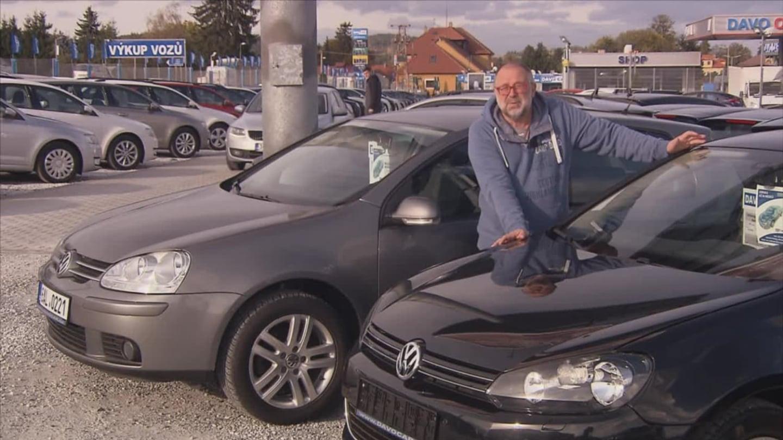 Ojeté automobily VW Golf