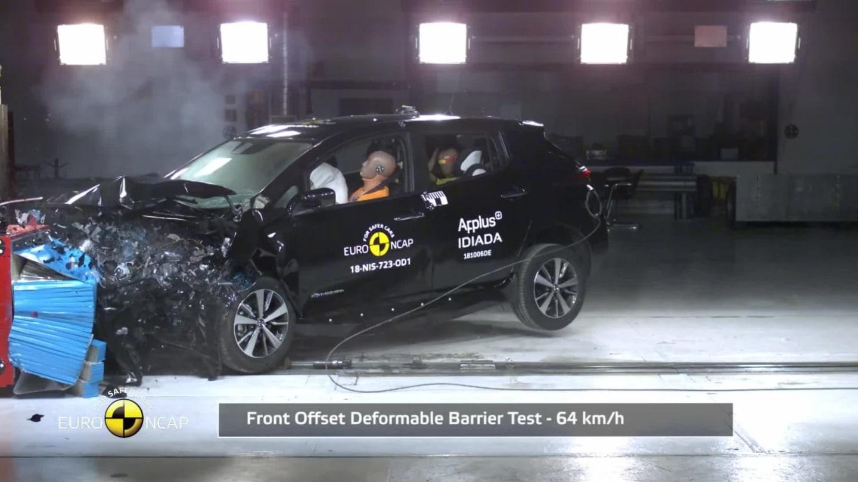 Nissan LEAF Euro NCAP 2018