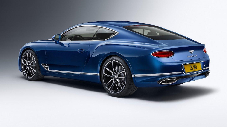 Třetí generace luxusního kupé Bentley Continental GT.