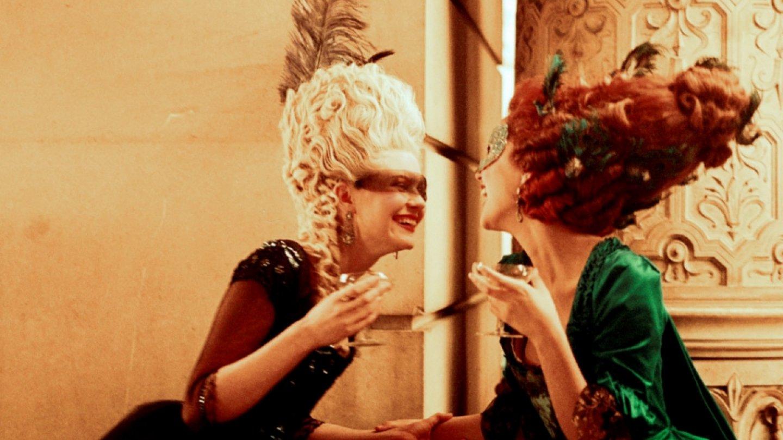 Záběry z filmu Marie Antoinetta