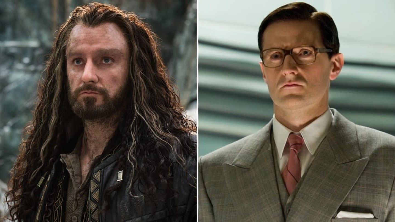 Richard Armitage jako Thorin v Hobitovi a Heinz Kruger v Kapitánu Amerikovi