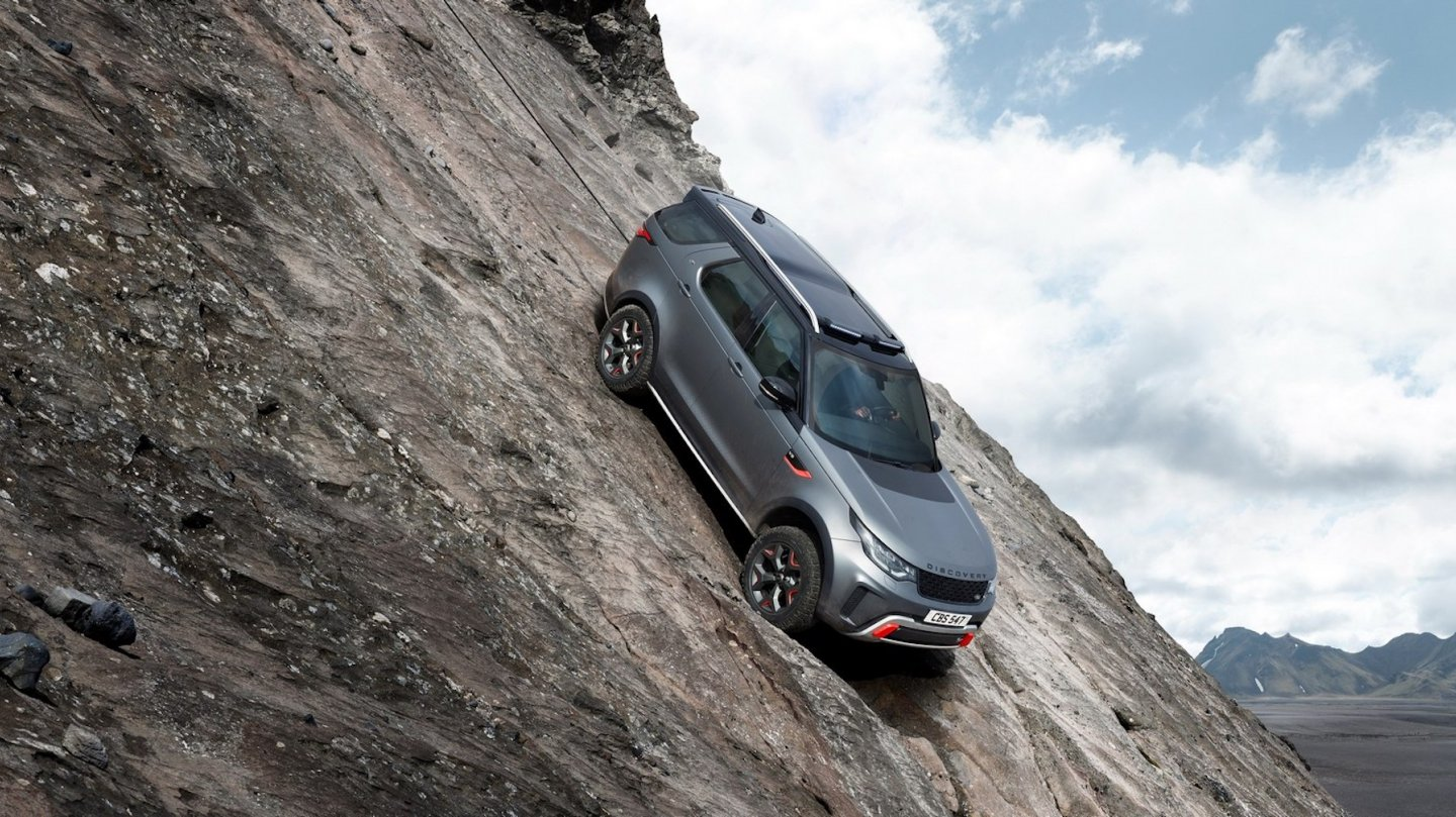 Land Rover Discovery SVX 3