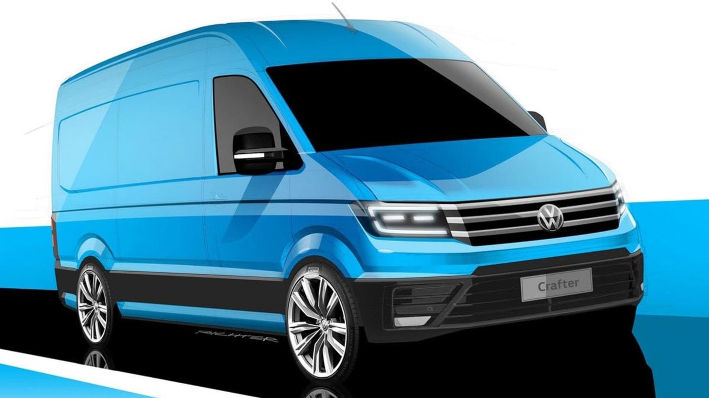 Nový Volkswagen Crafter.