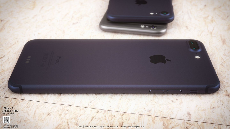 Jak bude vypadat iPhone 7 v nové modré barvě? 2