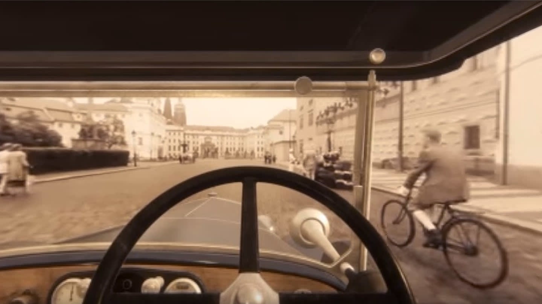 Projeďte se centrem Prahy 20. let díky virtuální realitě
