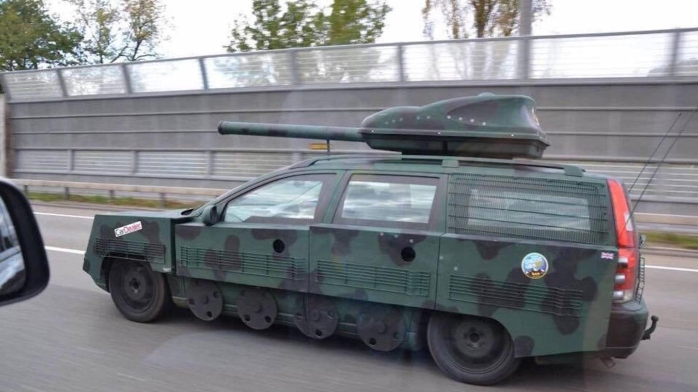 Volvo V70 jako tank